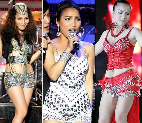 Sao Việt mặc váy đính đá... vô tội vạ - 7