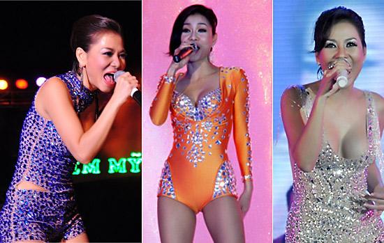 Sao Việt mặc váy đính đá... vô tội vạ - 8