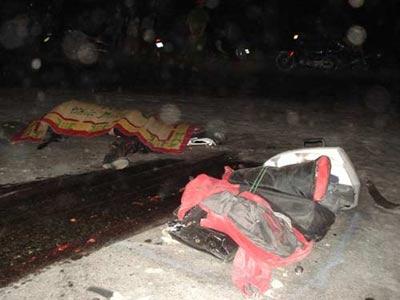 Đôi nam nữ chết thảm dưới bánh xe ben - 2