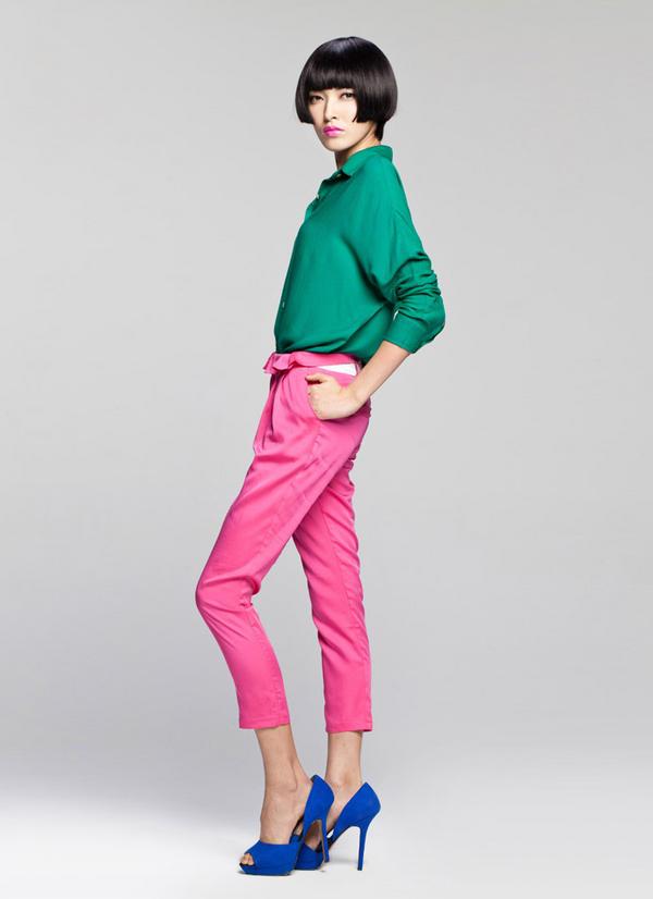Nổi bật với chiếc quần màu mè - 3