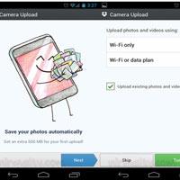 Tự động upload hình ảnh từ Camera trên Android đến Dropbox