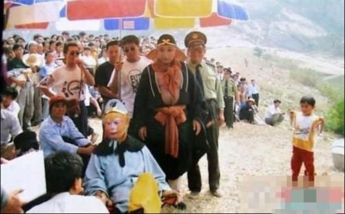 """Ảnh """"độc"""" hậu trường Tây Du Ký 1986 - 4"""