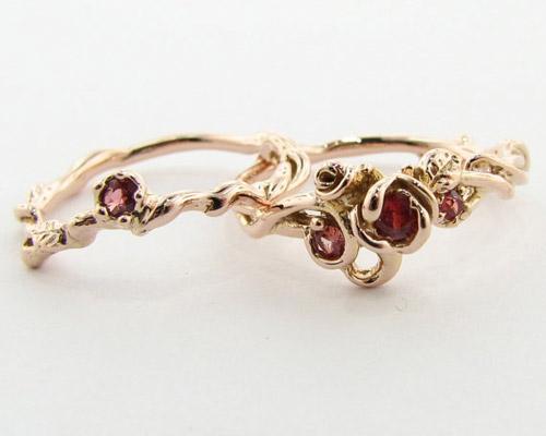 Tô điểm tay bằng nhẫn hoa hồng - 15