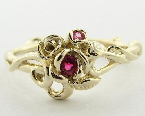 Tô điểm tay bằng nhẫn hoa hồng - 13