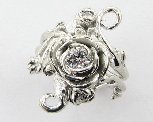 Tô điểm tay bằng nhẫn hoa hồng - 1