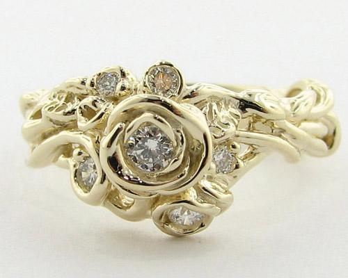 Tô điểm tay bằng nhẫn hoa hồng - 9