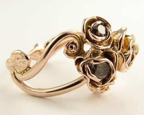 Tô điểm tay bằng nhẫn hoa hồng - 12