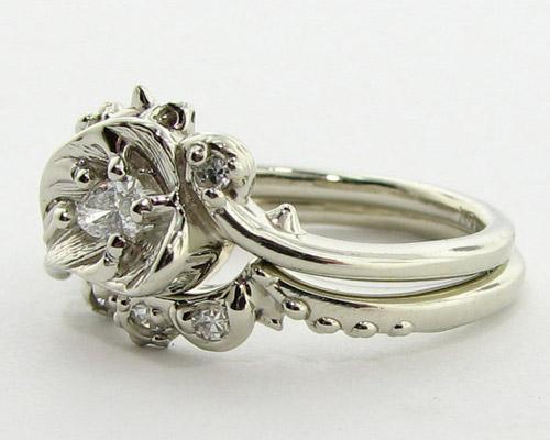 Tô điểm tay bằng nhẫn hoa hồng - 4