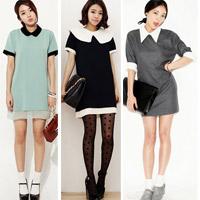 Mặc váy suông theo phong cách Hàn