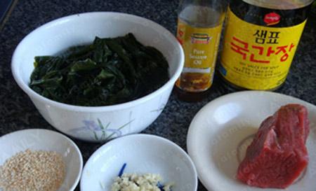 Canh rong biển thịt bò tốt cho sức khỏe - 1