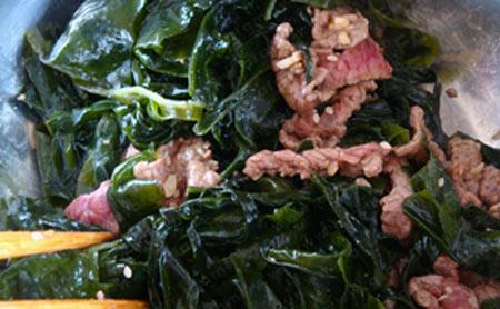 Canh rong biển thịt bò tốt cho sức khỏe - 5