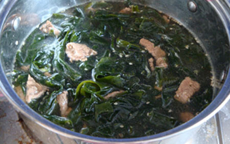 Canh rong biển thịt bò tốt cho sức khỏe - 6