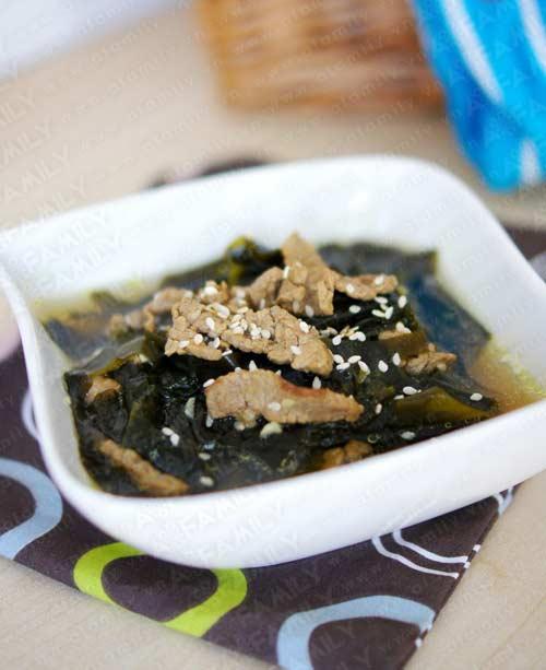 Canh rong biển thịt bò tốt cho sức khỏe - 8