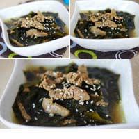 Canh rong biển thịt bò tốt cho sức khỏe