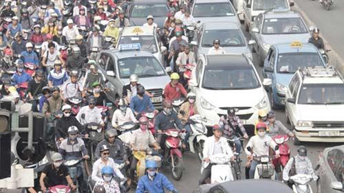 Sẽ cấm xe máy hoàn toàn tại Hà Nội và TP Hồ Chí Minh - 1