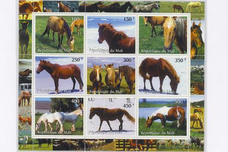 Kỷ lục Việt Nam: Bộ sưu tập tem ngựa nhiều nhất - 3