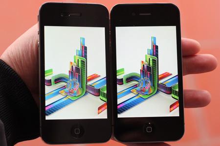 IPhone 4 và HKPhone 4S–Retina đọ màn hình - 2