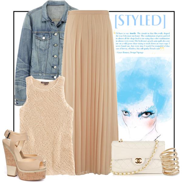 19 cách kết hợp maxi skirt thật hoàn hảo - 4