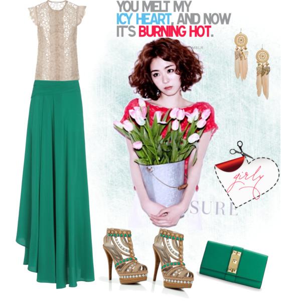 19 cách kết hợp maxi skirt thật hoàn hảo - 5