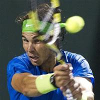 Nadal - Tsonga: Nhọc nhằn (Video tennis, tứ kết Miami Masters)