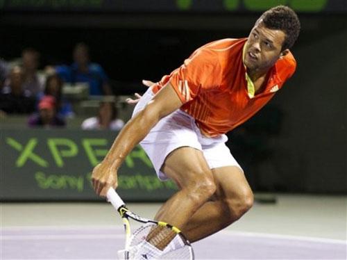 Nadal - Tsonga: Nhọc nhằn (Video tennis, tứ kết Miami Masters) - 1