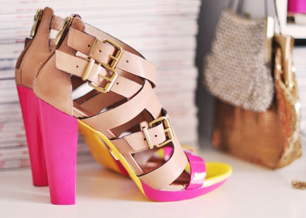 Cách tạo sandal neon dễ mà cực đẹp! - 1