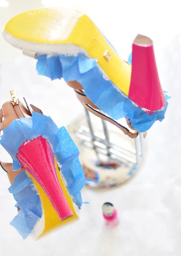 Cách tạo sandal neon dễ mà cực đẹp! - 9
