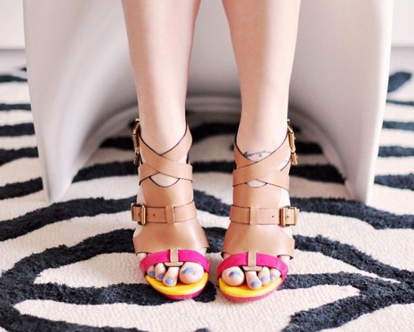 Cách tạo sandal neon dễ mà cực đẹp! - 13