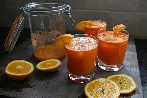 Sinh tố cà rốt - ngon miệng, đẹp da - 7
