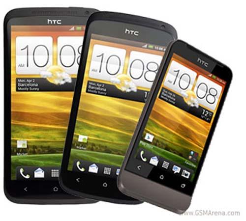 HTC One X, One S, và One V báo giá tại châu Âu - 1