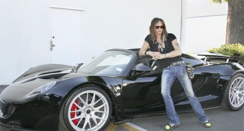 """Ma tốc độ"" Venom GT Spyder đến tay Steven Tyler - 1"