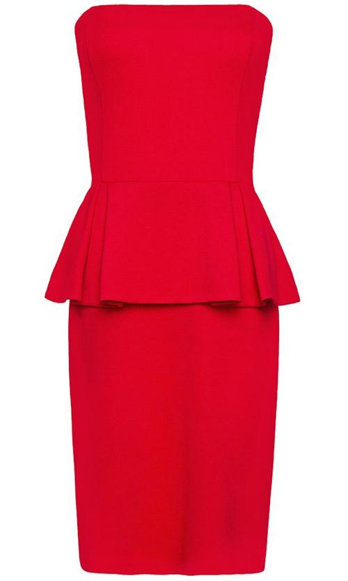 Khảo giá 8 chiếc váy đỏ hợp mốt mùa Xuân - 3