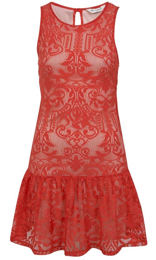 Khảo giá 8 chiếc váy đỏ hợp mốt mùa Xuân - 4