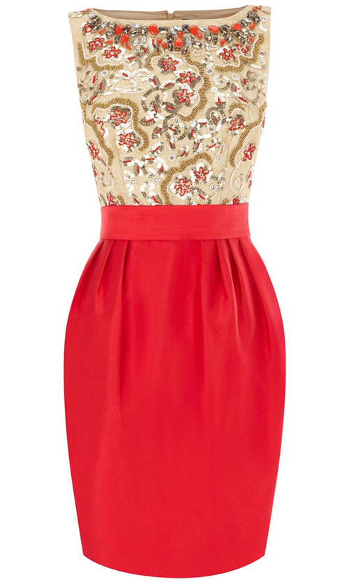 Khảo giá 8 chiếc váy đỏ hợp mốt mùa Xuân - 7