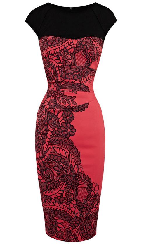 Khảo giá 8 chiếc váy đỏ hợp mốt mùa Xuân - 1
