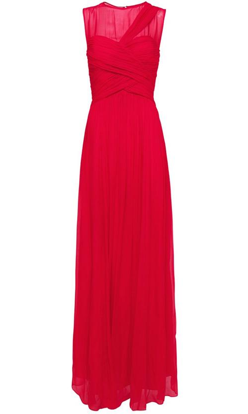 Khảo giá 8 chiếc váy đỏ hợp mốt mùa Xuân - 2