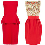 Thời trang - Khảo giá 8 chiếc váy đỏ hợp mốt mùa Xuân