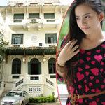 Miss Teen khoe dáng bên dinh thự nổi tiếng