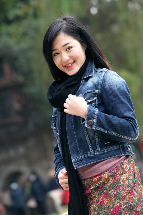 Mặc áo khoác jean sành điệu ngày lạnh - 7
