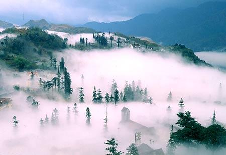 Những điểm du lịch hút khách mùa đông ở VN - 5
