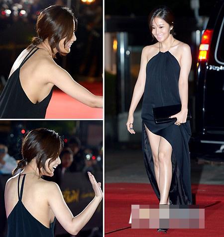 """Top váy """"nguy hiểm"""" năm 2012 của mỹ nhân - 6"""