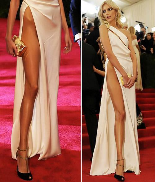 """Top váy """"nguy hiểm"""" năm 2012 của mỹ nhân - 11"""