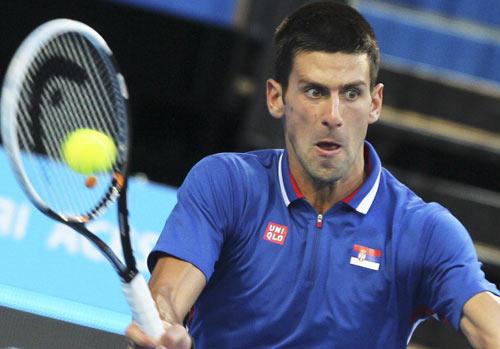 Djokovic đạt điểm rơi phong độ ở Úc mở rộng - 1