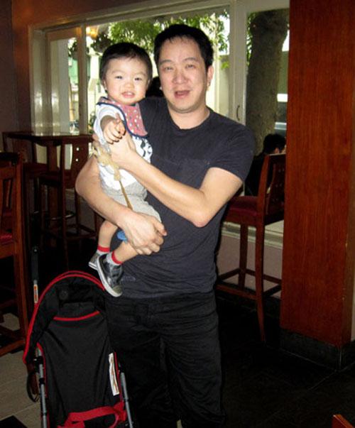 Ảnh hiếm con trai của Huy MC và vợ mới - 4