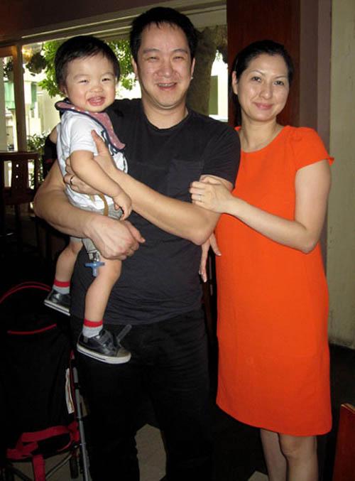 Ảnh hiếm con trai của Huy MC và vợ mới - 1