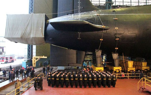 """Ngắm tàu ngầm """"sát thủ câm lặng"""" của Nga - 3"""