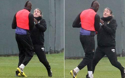 """Mancini lý giải vụ """"tẩn"""" Balotelli - 1"""