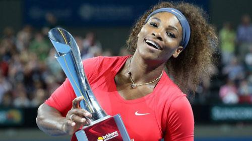 Serena lần đầu đăng quang tại Brisbane - 1