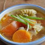 Ẩm thực - Xuýt xoa món canh gà khoai lang
