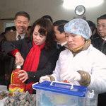 Tin tức trong ngày - HN: 2 bộ trưởng bất ngờ kiểm tra chợ Đồng Xuân